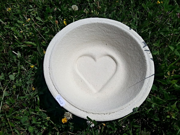 Ošatka na chlieb guľatá 1000g Srdce