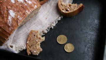Domáci kváskový chlieb vás výjde len 0,7€!