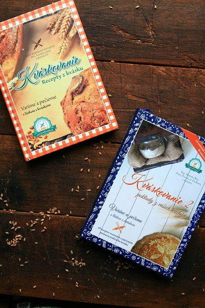 KVÁSKOVANIE – kuchárske knihy