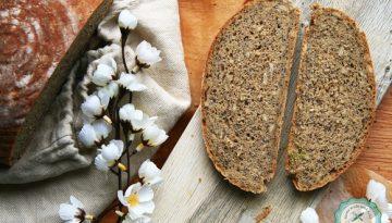 ražno-špaldový chlieb