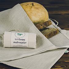 6. BONUS: zľava 10% na nákup konopných vreciek na chlieb v eshope chlebnik.sk
