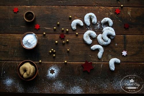 vanilkove rozky s kvaskom