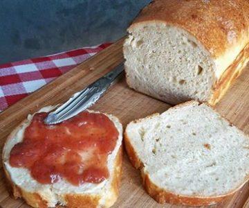 kváskový toastový chlebík