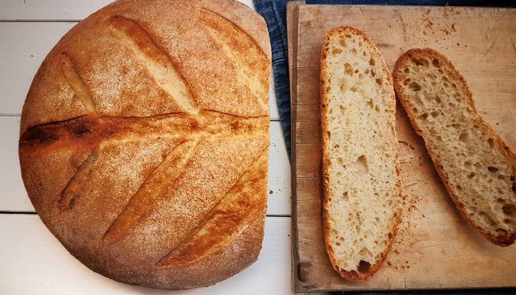francuzsky chlieb z kvasku
