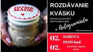 rozdávanie kvásku Košice