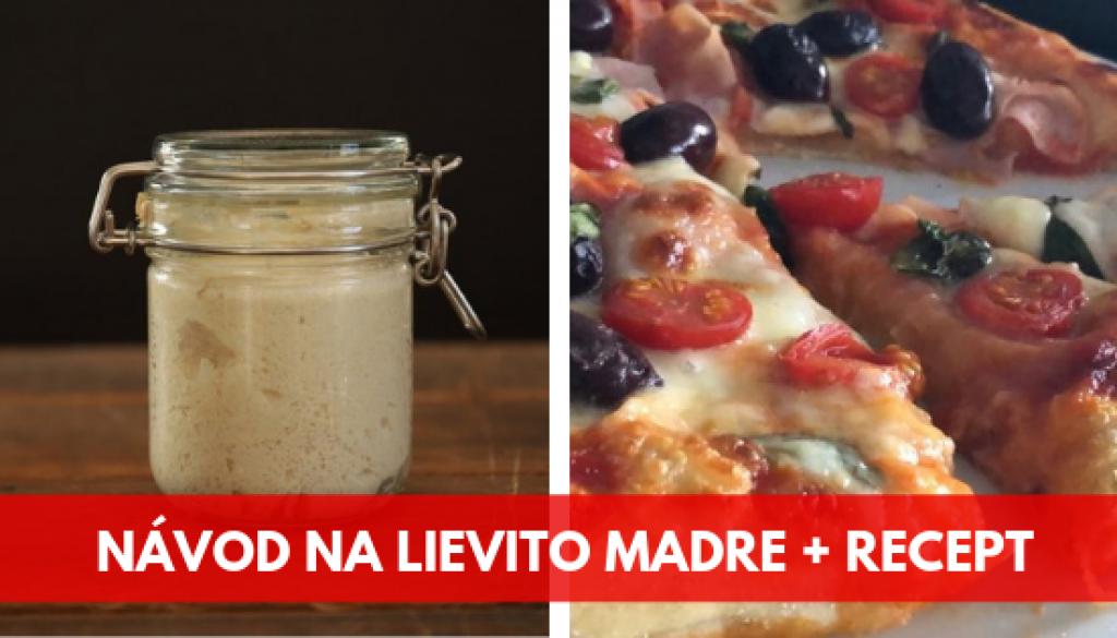 banner clanok lievito madre recept na pizzu s LM