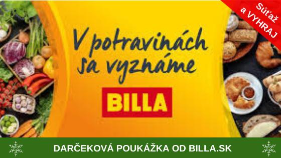 3 výherci / každý v hodnote 50 Eur / Výhercovia: Bartečková Ľudmila, Sondorová Miriam, Barnošáková Michaela