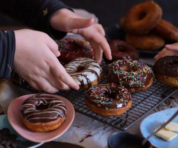 AMerické donuty z kvasku
