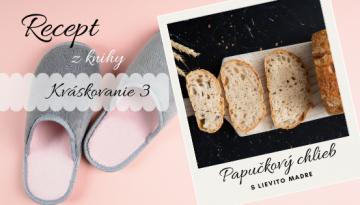 Papučkový chlieb blog banner