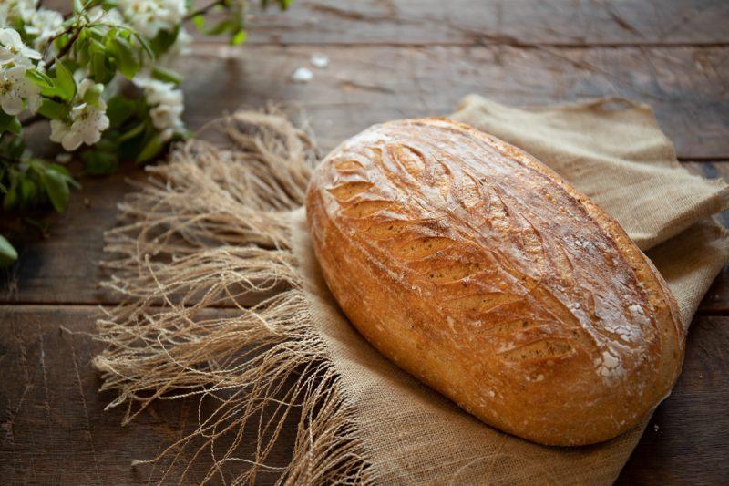 Jednoduchý kváskový chlieb