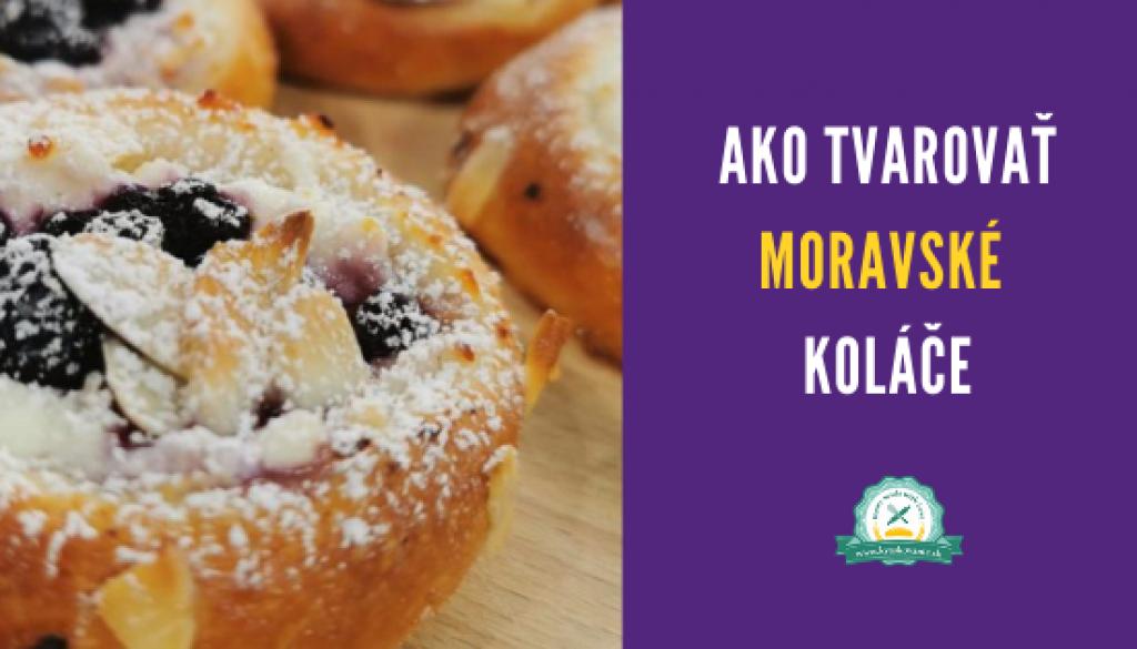 banner blog ako tvarovat moravske kolace