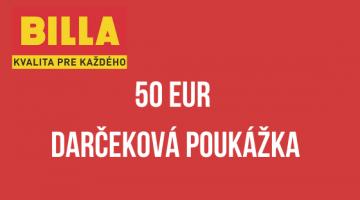 50 EUR Darčeková poukážka