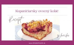blog banner Kopaničiarsky kolac